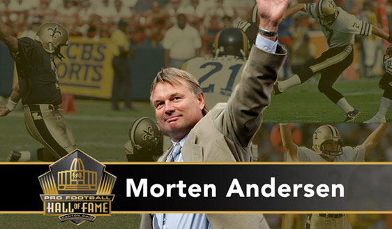 Morten Andersen named finalist for Pro Football Hall of Fame 2016